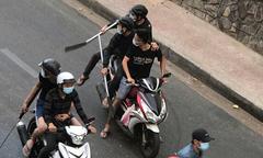 Giang hồ vác mã tấu, súng xuống đường Sài Gòn hỗn chiến