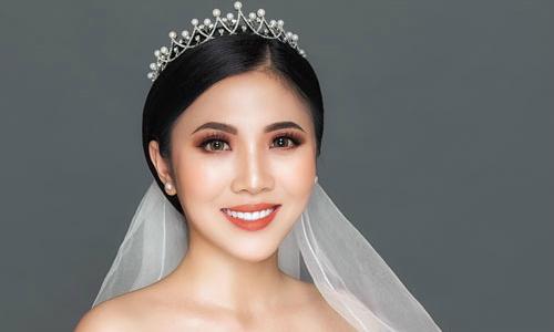 Biến hóa phong cách ngày cưới với kiểu makeup tông cam đất
