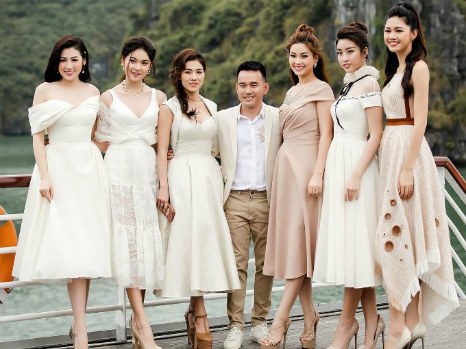 Trang sức ngọc trai lên ngôi trong show diễn NTK Lê Thanh Hòa