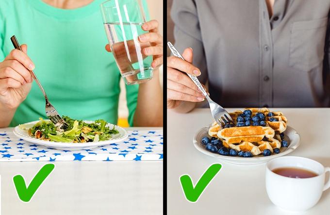 4 điều cần biết nếu bạn có thói quen uống nước trong khi ăn - 1