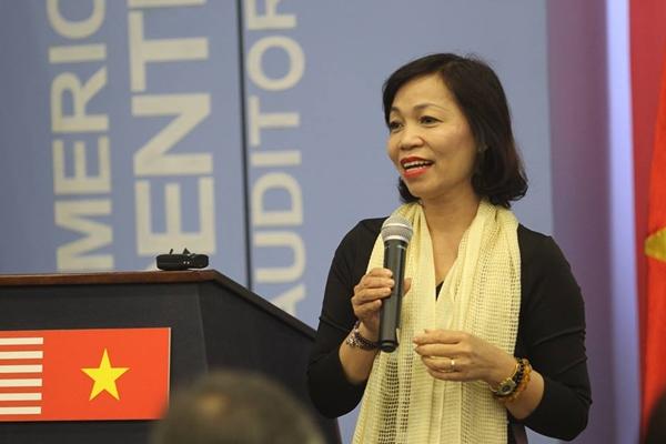 Bà Hà Thu Thanh hiện làChủ tịch Hội đồng thành viên của Deloitte Việt Nam, (Deloitte là một trong bốn công ty kiểm toán hàng đầu thế giới).