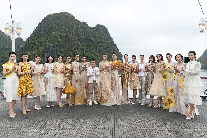 Show diễn Mặt trời phương Đôngkhông chỉ mang đếnnhững thiết kế đẹp, tinh khôi củaLê Thanh Hoà mà còn cho thấy sự chỉn chu đến từng chi tiếtcủa anh để tạo nên sự trọn vẹn cho bộ sưu tập.