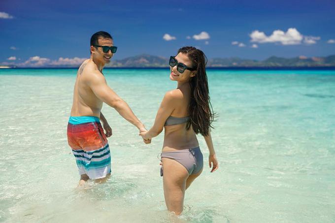 Thuý Diễm hoài niệm chuyến đi cũ và làm nũng ông xã Lương Thế Thành: Dắt e đi biễn đi chồng ! E hứa sẽ mặc vừa bộ bikini mà.