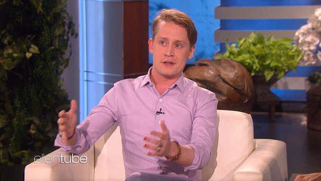 Macaulay Culkin xuất hiện bảnh bao trong chương trình của MC nổi tiếng Ellen DeGeneres.