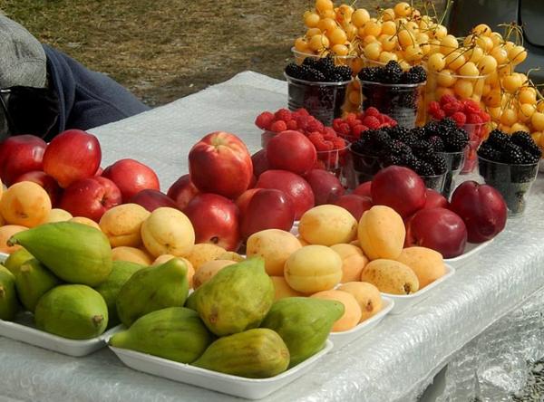 Những loại hoa quả mà Nakano ăn hàng ngày. Ảnh:Armineaghayan