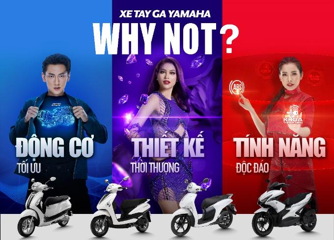 Yamaha và bước đi chiến lược từ chiến dịch sắc màu Why Not?.