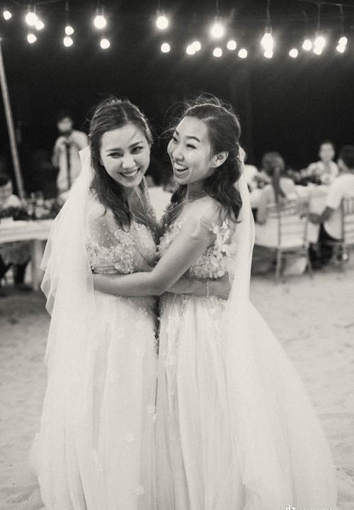Tiệc cưới ở biển Bình Thuận của hai cô gái từng yêu chung một người - 11