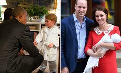 Vợ chồng ông Obama chúc mừng Hoàng gia Anh đón thành viên mới