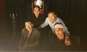 Việt Anh hóa trang be bét máu ở hậu trường 'Người phán xử' ngoại truyện