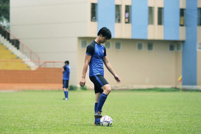 Nhan Phúc Vinh đóng phim với cựu danh thủ Lê Huỳnh Đức - 4