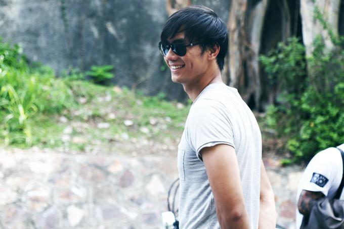 Nhan Phúc Vinh đóng phim với cựu danh thủ Lê Huỳnh Đức - 6