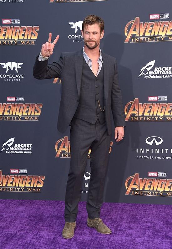 Nam diễn viên Chris Hemsworth.