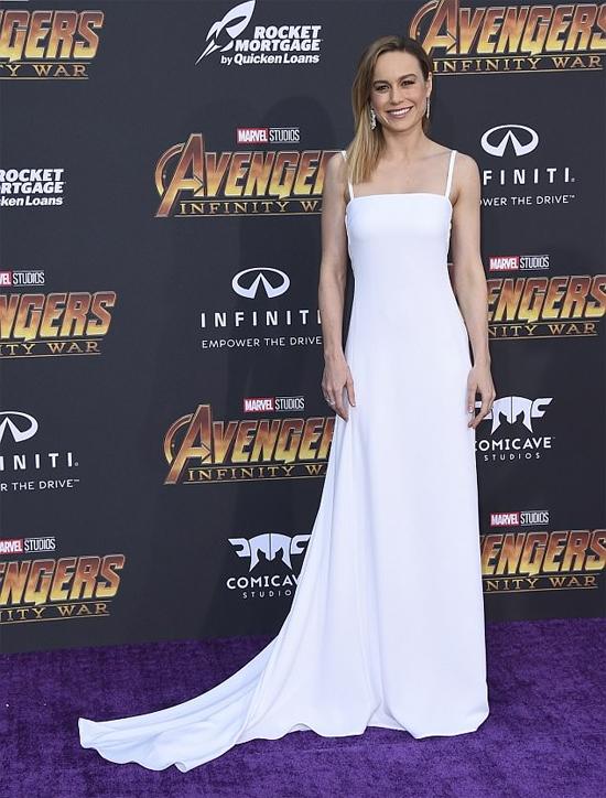 Nữ diễn viên Brie Larson.