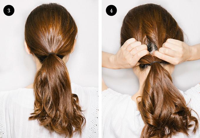 3 kiểu tóc cô dâu vụng mấy cũng có thể tự làm - 2
