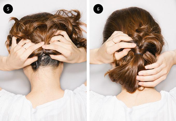 3 kiểu tóc cô dâu vụng mấy cũng có thể tự làm - 3