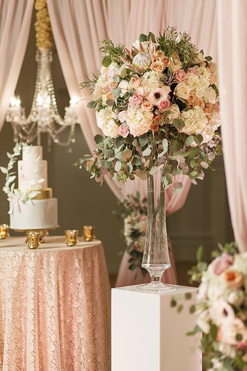 Ý tưởng trang trí đám cưới mang sắc hồng cổ tích - 6