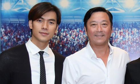 Nhan Phúc Vinh đóng phim với cựu danh thủ Lê Huỳnh Đức