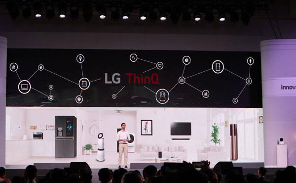 LG ra mắt loạt sản phẩm ở Innofest 2018