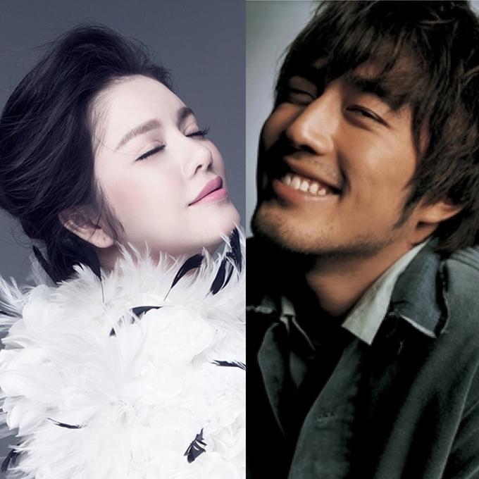Lý Nhã Kỳ và Jo Han Sun.