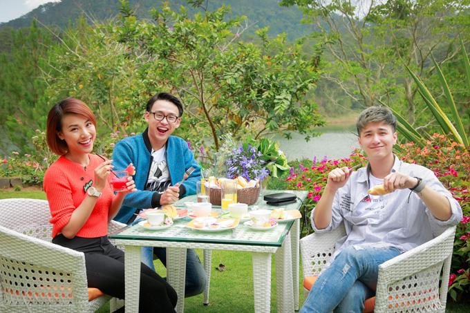 Hoàng Oanh ăn uống, đi đạo cùng người yêu cũ ở Đà Lạt - 1