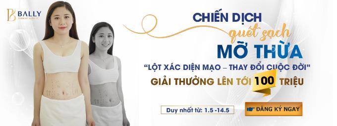 Đăng ký tham gia cuộc thi tại Thẩm mỹ quốc tế Bally (463 Kim Mã, Hà Nội) hoặc qua fanpage, hotline 01686 463 46.