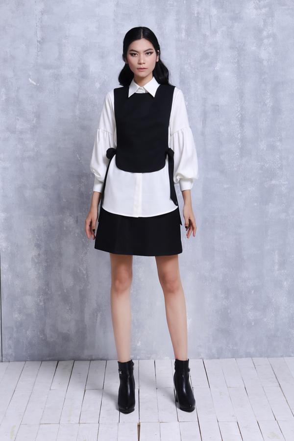 Màu sắc chủ đạo của bộ sưu tậplà đen,trắng,hồng, dễ dàng để tạo sự phối hợp và sử dụng, cũng là những màu sắc ít bị cũ theo thời gian.