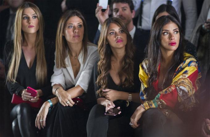 Ngoài Antonella Roccuzzo và Daniella Semaan, show của Rosa Clara thu hút nhiều nhân vật nổi tiếng.
