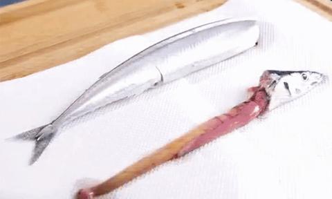 Học người Nhật cách làm cá nhanh gọn