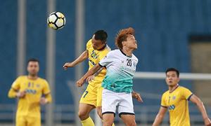Thanh Hoá chật vật cầm hoà đối thủ trong trận chia tay AFC Cup
