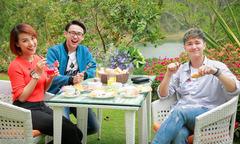 Hoàng Oanh ăn sáng, đi dạo cùng người yêu cũ ở Đà Lạt