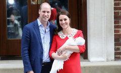 Lý do vợ chồng Kate hoãn công bố tên hoàng tử mới sinh