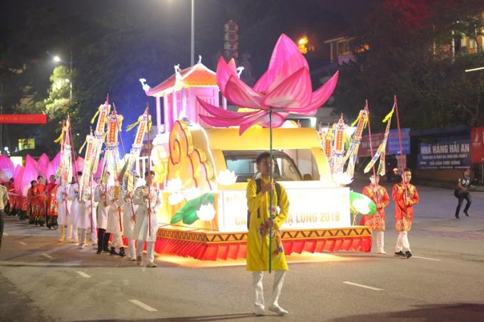 Lễ diễu hành Carnaval diễn ra tại Hạ Long