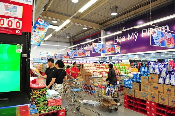 Gần 50 sản phẩm với bao bì lớn cũng sẽ có giá tốt dành riêng cho các khách hàng chuyên nghiệp là các nhà hàng, căng-tin và khách sạn khi mua sắm tại MM.