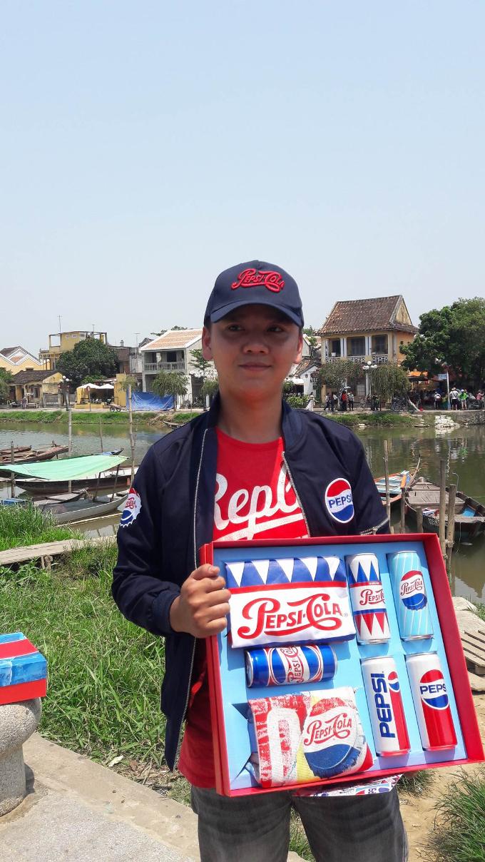 Pepsi trao quà tặng cho giới trẻ Đà Nẵng - Hội An - 2