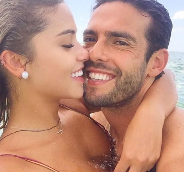 Cựu tiền vệ điển trai Kaka đang say đắm trong vòng tay người đẹp kém 13 tuổi, Carolina Dias, ba năm sau ngày cuộc hôn nhân đẹp như cổ tích với vợ cũ Caroline Celico tan vỡ. Hoàng tử Brazil 36 tuổidường như trẻ ra, rạng rỡ hơn và cũng thường xuyên đăng ảnh ngọt ngào với tình trẻ.