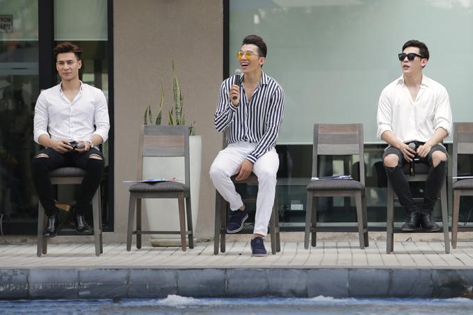 Sự góp mặt của bộ 3 siêu mẫu việt nam là Tuấn Anh, Ngọc Tình và Minh Trung trong vai trò giám khảogiúp chương trình trở nên sôi động và hào hứng hơn.