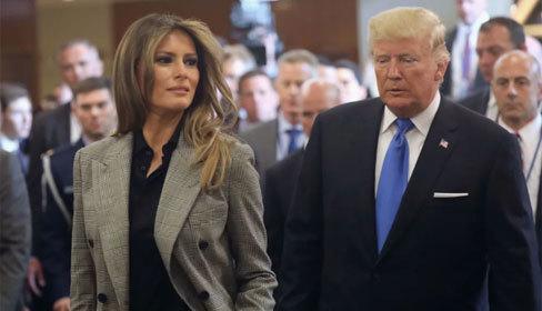 Những bộ suit toát lên vẻ quyền lực của bà Melania Trump