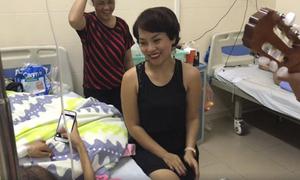 Thái Thùy Linh hát 'Em gái mưa' tặng bệnh nhân ung thư