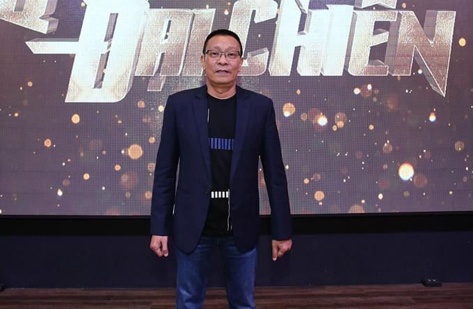 MC Lại Văn Sâm dự buổi họp báo công bố chương trình Quý ông đại chiến tại TP HCM. Anh cầm trịch gameshow này.