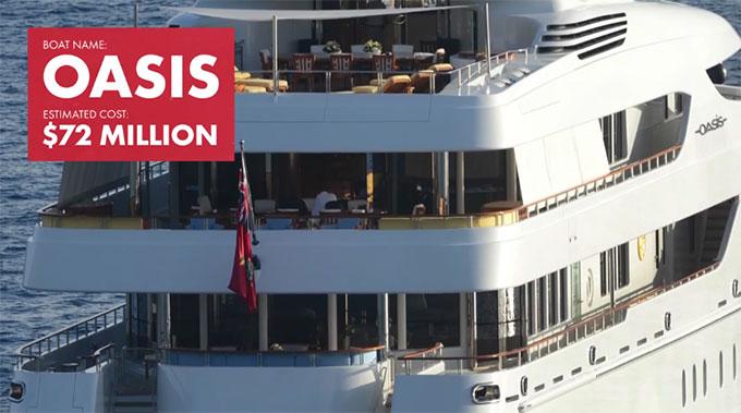 Rapper Diddy sở hữu một trong những chiếc du thuyền đắt đỏ nhất thế giới. Nó có giá lên tới 72 triệu USD (1.636 tỷ đồng).