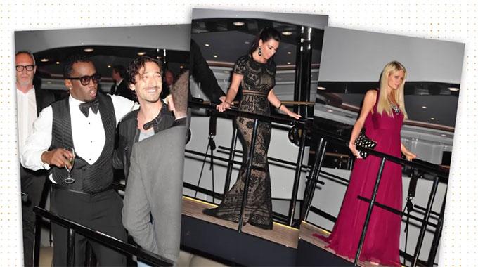 Diddy từng mở rất nhiều bữa tiệc xa hoa trên du thuyền của anh và mời đông đảo ngôi sao tới tham dự như Kim Kardashian, Paris Hilton...