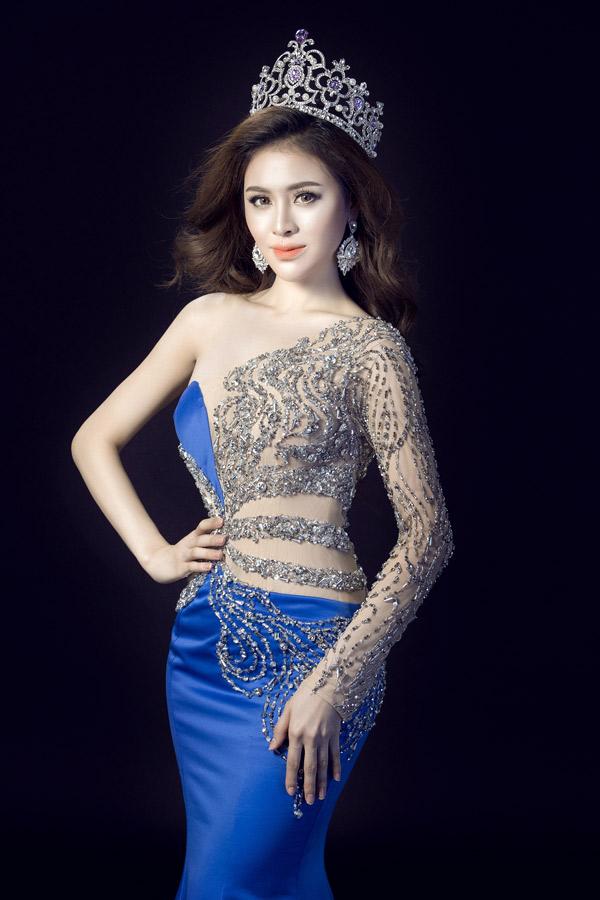 Thư Dung đoạt Á hậu 2 Miss Eco International dù nói tiếng Anh kém
