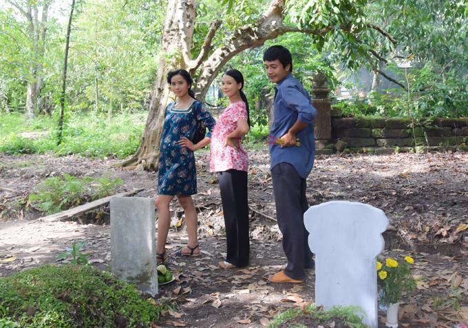 Bella Mai, Sam và Quang Tuấn lần lượt thể hiện vai Duyên, Ngọc và Quân lúc lớn. Họ có nhiều cảnh quay chung và có nhiều kỷ niệm vui vẻ tại hậu trường.
