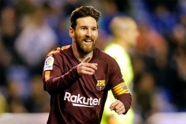 Messi góp công lớn trong mùa giải Barca lên ngôi. Ảnh: NN.