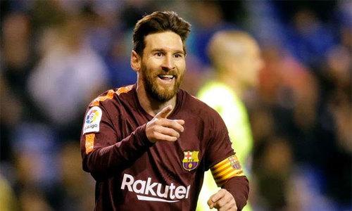 Messi lập hattrick, Barca vô địch sớm La Liga