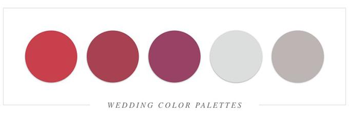 Tất tần tật cách tổ chức tiệc cưới với sắc đỏ rực rỡ - 23