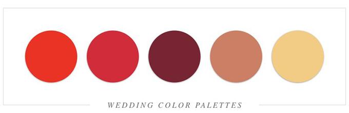 Tất tần tật cách tổ chức tiệc cưới với sắc đỏ rực rỡ - 10