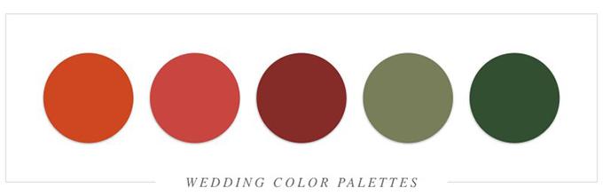 Tất tần tật cách tổ chức tiệc cưới với sắc đỏ rực rỡ - 19