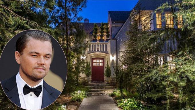 Leonardo DiCaprio chỉ vừa mua biệt thự ở Los Feliz, Los Angeles với giá 4,91 triệu USD (112 tỷ đồng).