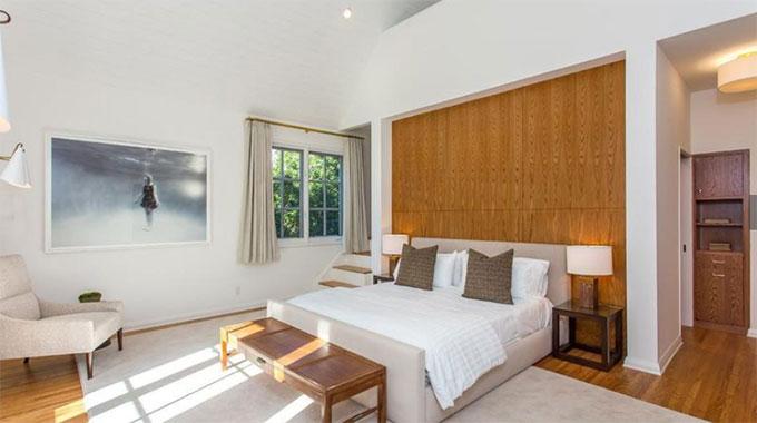 Các phòng ngủ cũng được thiết kế cùng tông màu.